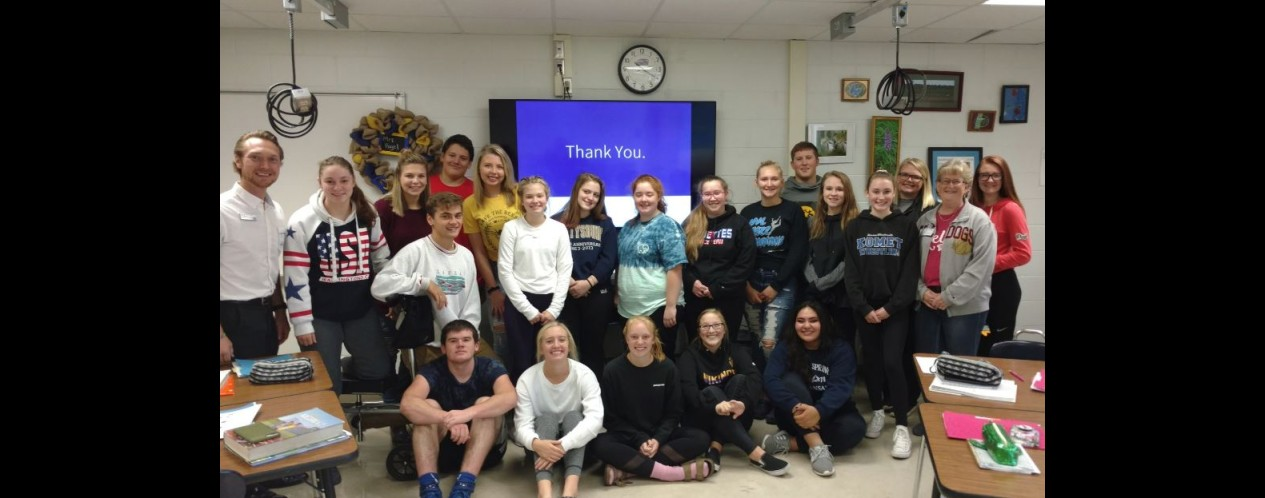 Photograph of Community Actions Class