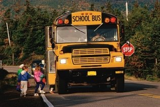 Image of a school bus used as a place holder